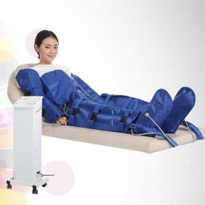 Air pressure body slimming suit Stand type
