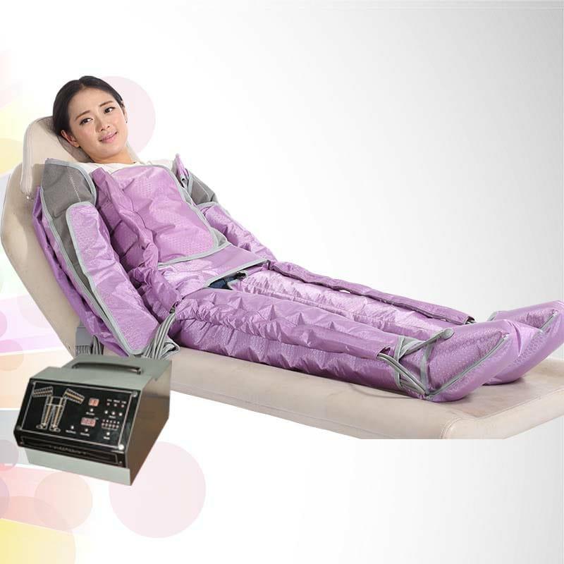 Air pressure body slimming machine 44 pcs airbags Width adjustable,Length adjustable