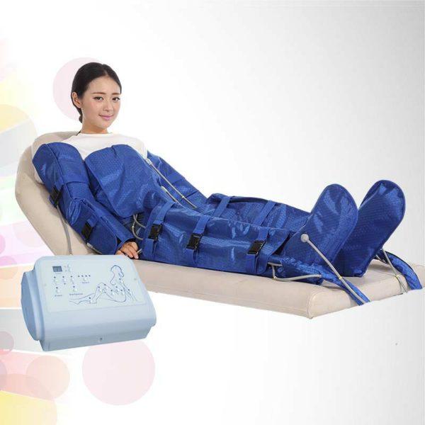 Air pressure body slimming suit table type